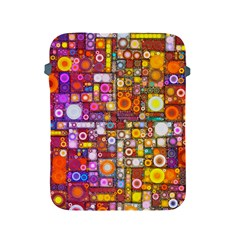 Circles City Apple iPad 2/3/4 Protective Soft Cases by KirstenStar
