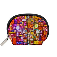 Circles City Accessory Pouches (Small)  by KirstenStar