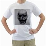 Skull Men s T-Shirt (White)