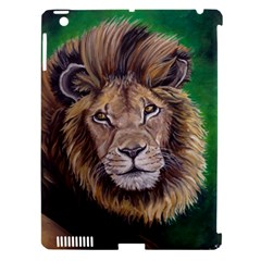 Lion Apple Ipad 3/4 Hardshell Case (compatible With Smart Cover) by ArtByThree