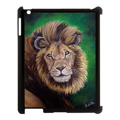 Lion Apple Ipad 3/4 Case (black) by ArtByThree