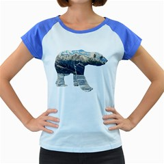 Tundra Polar Bear Women s Cap Sleeve T-Shirt (Colored) by IphavokImpressions