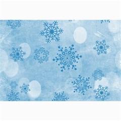 Winter Bokeh Blue Collage 12  X 18