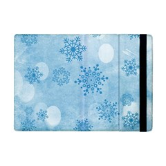 Winter Bokeh Blue iPad Mini 2 Flip Cases by MoreColorsinLife