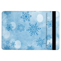 Winter Bokeh Blue iPad Air Flip by MoreColorsinLife