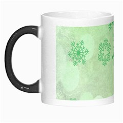 Winter Bokeh Green Morph Mugs by MoreColorsinLife