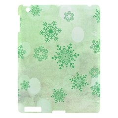 Winter Bokeh Green Apple Ipad 3/4 Hardshell Case by MoreColorsinLife