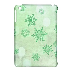 Winter Bokeh Green Apple Ipad Mini Hardshell Case (compatible With Smart Cover) by MoreColorsinLife