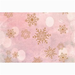 Winter Bokeh Pink Collage 12  X 18  by MoreColorsinLife