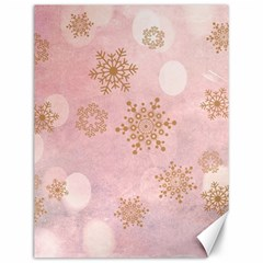Winter Bokeh Pink Canvas 12  X 16   by MoreColorsinLife