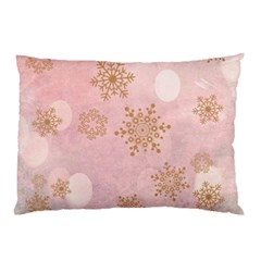 Winter Bokeh Pink Pillow Cases (two Sides) by MoreColorsinLife