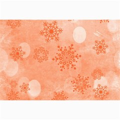 Winter Bokeh Red Collage 12  X 18  by MoreColorsinLife