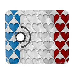 France Hearts Flag Samsung Galaxy S  Iii Flip 360 Case by theimagezone
