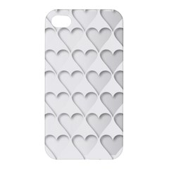 France Hearts Flag Apple Iphone 4/4s Premium Hardshell Case by theimagezone