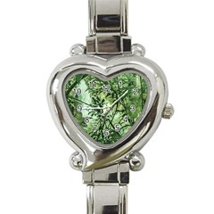 Jungle View At Iguazu National Park Heart Italian Charm Watch by dflcprints