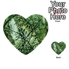 Jungle View At Iguazu National Park Multi Purpose Cards (heart)  by dflcprints
