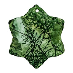 Jungle View At Iguazu National Park Snowflake Ornament (2 Side)