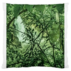 Jungle View At Iguazu National Park Large Cushion Cases (two Sides)  by dflcprints