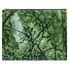 Jungle View At Iguazu National Park Cosmetic Bag (xxxl)  by dflcprints