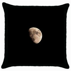 Half Moon Throw Pillow Cases (black) by timelessartoncanvas