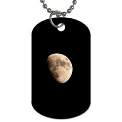 Half Moon Dog Tag (two Sides) by timelessartoncanvas
