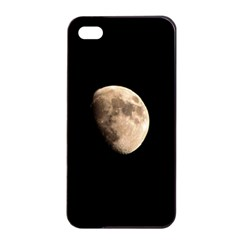 Half Moon Apple Iphone 4/4s Seamless Case (black) by timelessartoncanvas