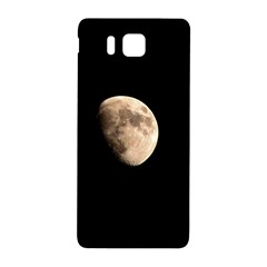 Half Moon Samsung Galaxy Alpha Hardshell Back Case by timelessartoncanvas