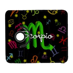 Scorpio Floating Zodiac Name Samsung Galaxy S  III Flip 360 Case by theimagezone