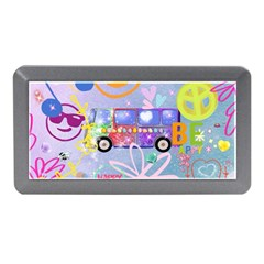 Summer Of Love   The 60s Memory Card Reader (Mini) by MoreColorsinLife