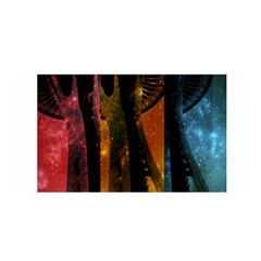 Colorful Space Needle Satin Wrap by stineshop