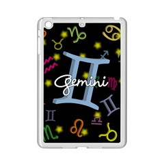 Gemini Floating Zodiac Sign Ipad Mini 2 Enamel Coated Cases by theimagezone