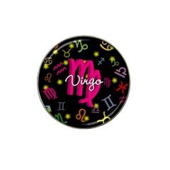 Virgo Floating Zodiac Sign Hat Clip Ball Marker by theimagezone