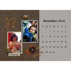 2016 Calendar By Mike Anderson   Desktop Calendar 8 5  X 6    T10dnocgiqkb   Www Artscow Com Nov 2016