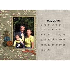 2016 Calendar By Mike Anderson   Desktop Calendar 8 5  X 6    T10dnocgiqkb   Www Artscow Com May 2016