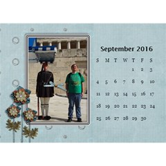 2016 Calendar By Mike Anderson   Desktop Calendar 8 5  X 6    T10dnocgiqkb   Www Artscow Com Sep 2016