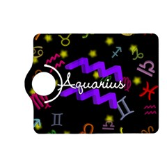 Aquarius Floating Zodiac Name Kindle Fire Hd (2013) Flip 360 Case by theimagezone
