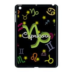 Capricorn Floating Zodiac Name Apple Ipad Mini Case (black) by theimagezone
