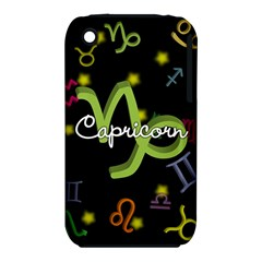 Capricorn Floating Zodiac Name Apple Iphone 3g/3gs Hardshell Case (pc+silicone) by theimagezone