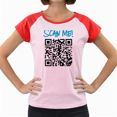 Scan Me! Women s Cap Sleeve T Shirt