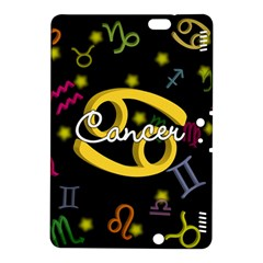 Cancer Floating Zodiac Name Kindle Fire Hdx 8 9  Hardshell Case by theimagezone