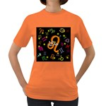 Leo Floating Zodiac Name Women s Dark T-Shirt