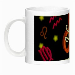 Leo Floating Zodiac Name Night Luminous Mugs by theimagezone