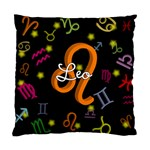 Leo Floating Zodiac Name Standard Cushion Cases (Two Sides)