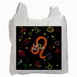 Leo Floating Zodiac Name Recycle Bag (Two Side)