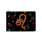Leo Floating Zodiac Name Cosmetic Bag (Medium)