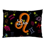 Leo Floating Zodiac Name Pillow Cases (Two Sides)