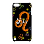 Leo Floating Zodiac Name Apple iPod Touch 5 Hardshell Case with Stand