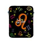 Leo Floating Zodiac Name Apple iPad 2/3/4 Protective Soft Cases