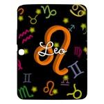 Leo Floating Zodiac Name Samsung Galaxy Tab 3 (10.1 ) P5200 Hardshell Case