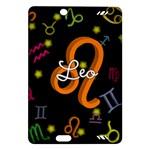 Leo Floating Zodiac Name Kindle Fire HD (2013) Hardshell Case